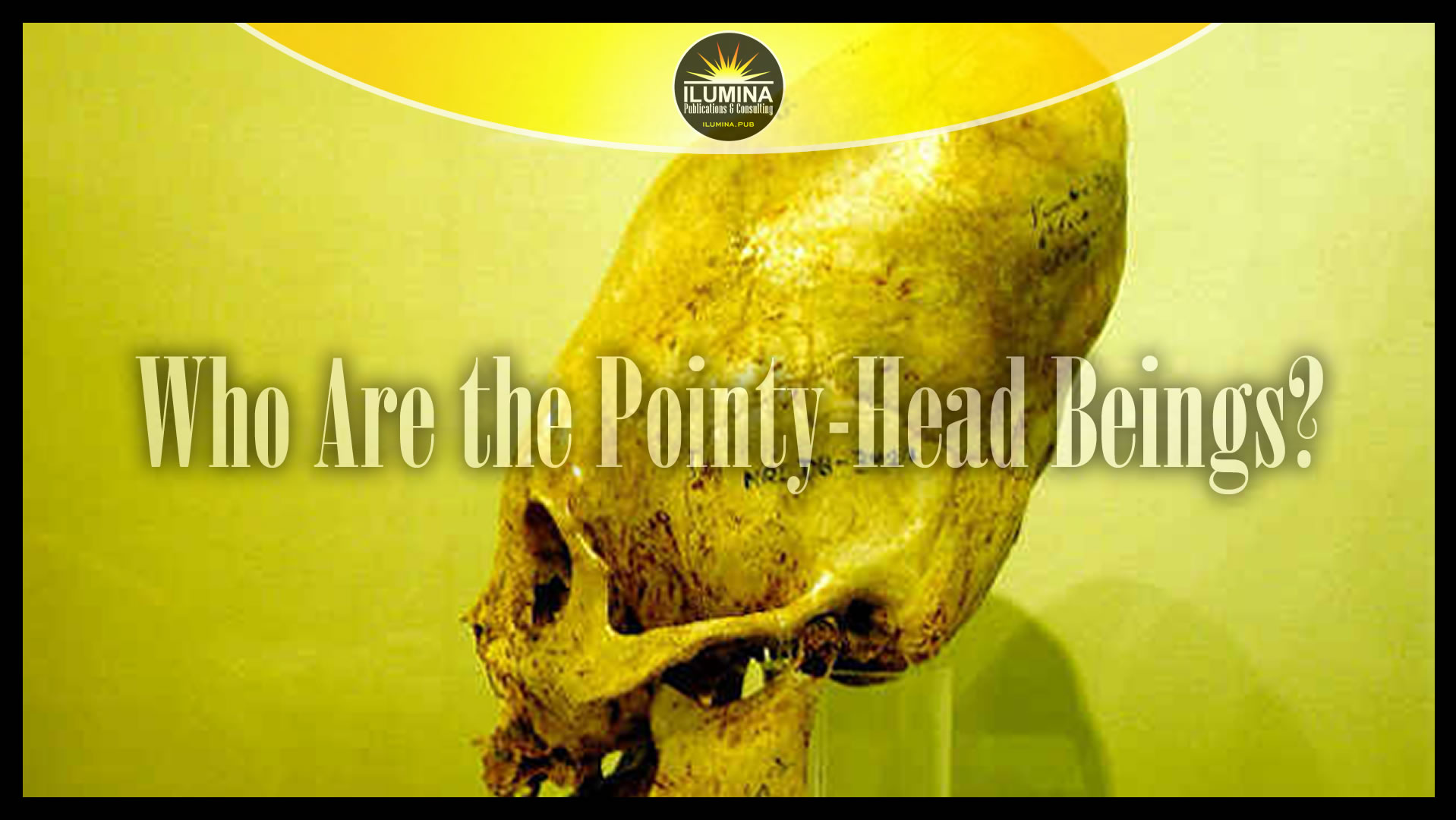 Who Are the Pointy-Head Beings?